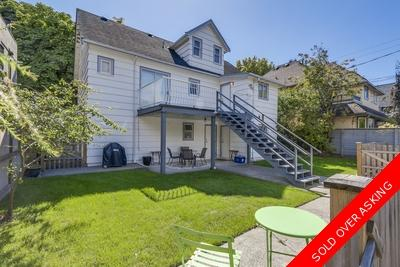 Kitsilano House for sale: 4 bedroom 2,755 sq.ft.