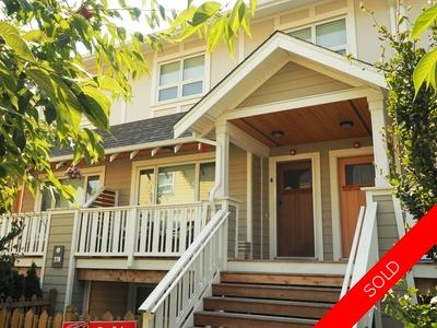 Queensborough, New Westminster Townhouse for sale:  3 bedroom 1,473 sq.ft. (Listed 2017-09-02)