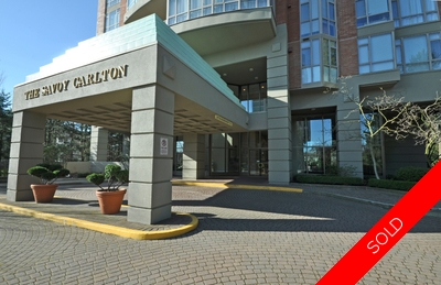 Burnaby, South Apartment for sale: Savoy Carlton 2 bedroom 1,175 sq.ft. (Listed 2016-08-07)